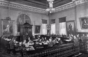 Toronto City Council in 1899. Courtesy of the Toronto Public Library Digital Archives