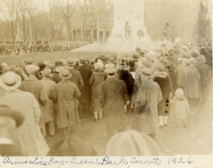 Armistice Day Queen's Park 1926