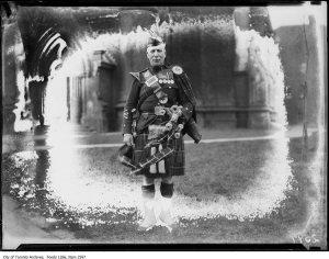 Pipe-Major Fraser 1924