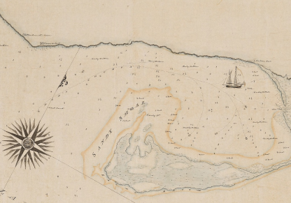 Harbour map Simcoe time 1792