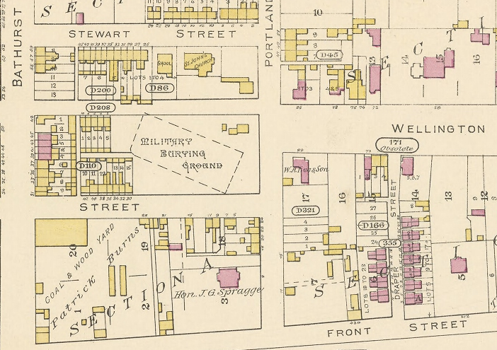 Goad's Fire Map 1884